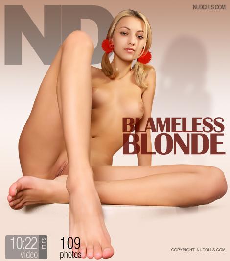 Blameless Blonde
