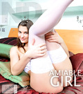 Amiable girl