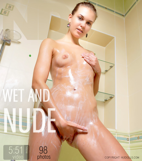 Wet and nude