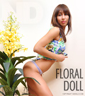 Floral doll