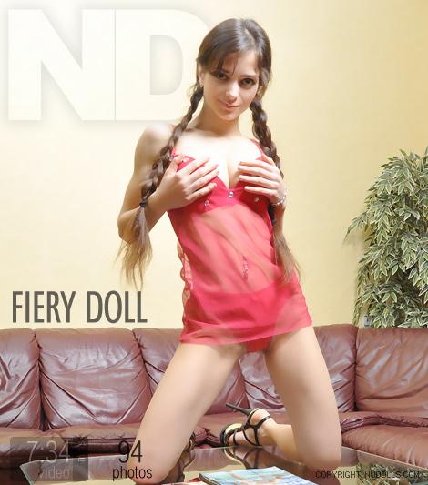 Fiery doll