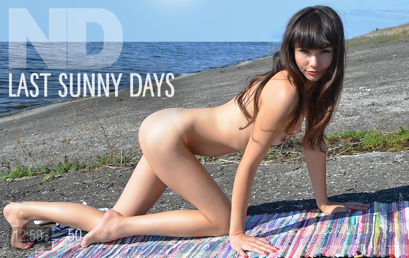 Last sunny days