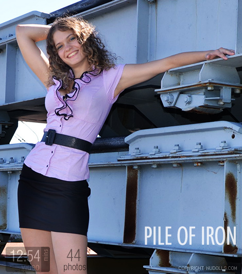 Pile of iron