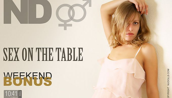 Sex on the table